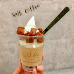 Muffin & Bowls cafe CUPSの「マフィンソフト」の写真